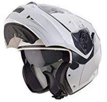 casco caberg duke modulare bianco